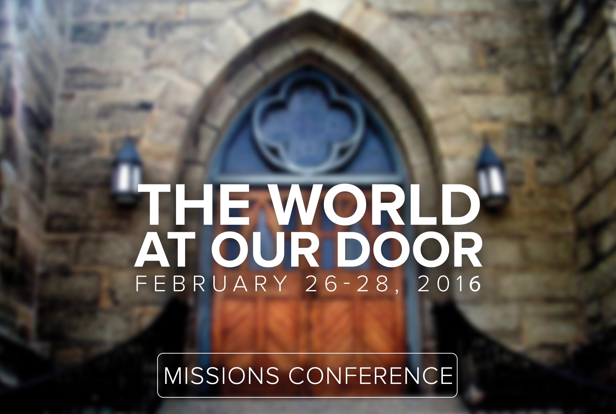 MissionsConference2016_Sermon
