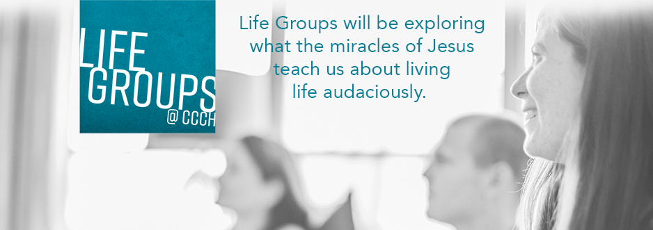 CCCH Life Groups banner