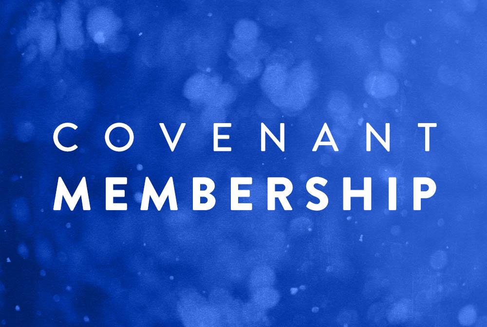 Covenant Membership banner