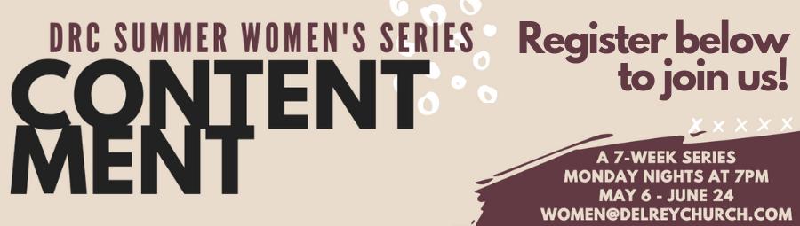 Contentment: Summer 2019 Women's Series banner