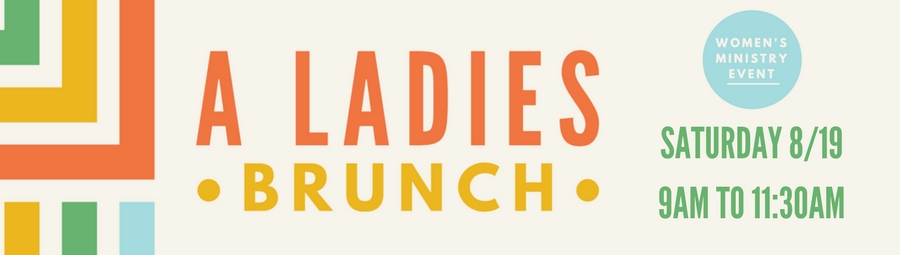 A Ladies Brunch banner