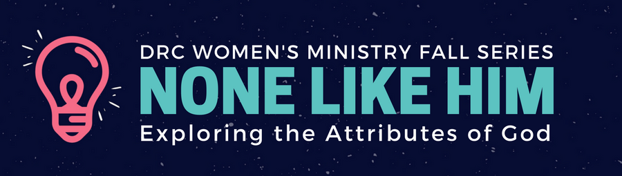 Women's Ministry Fall Series banner