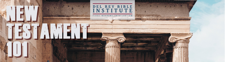 Del Rey Bible Institute (DRBI): Fall 2018 banner