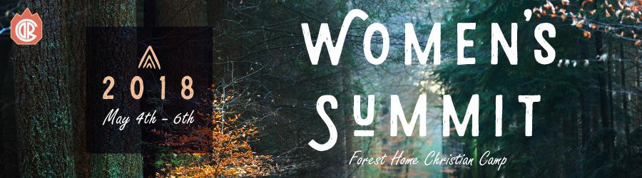 Women's Summit 2018 banner