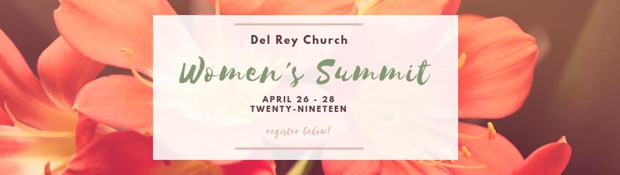 Women's Summit 2019 banner