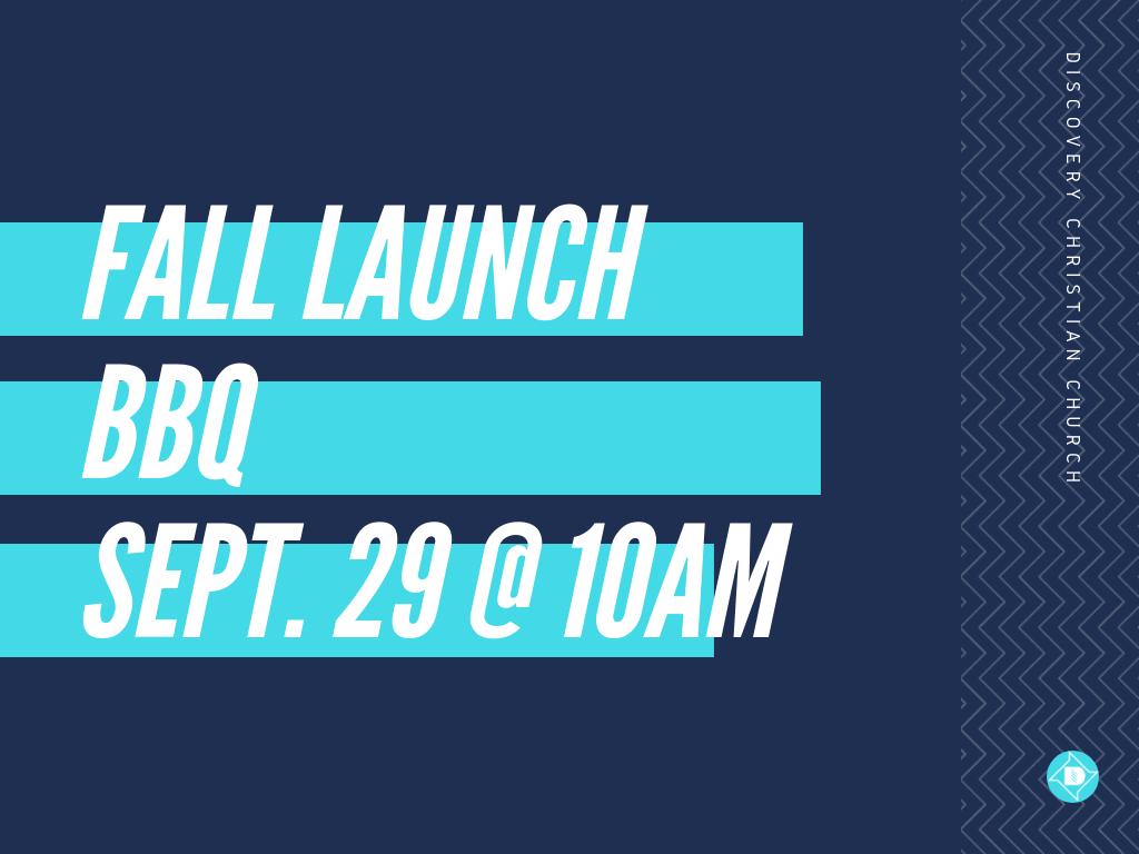 Fall LaunchBBQ2019 image