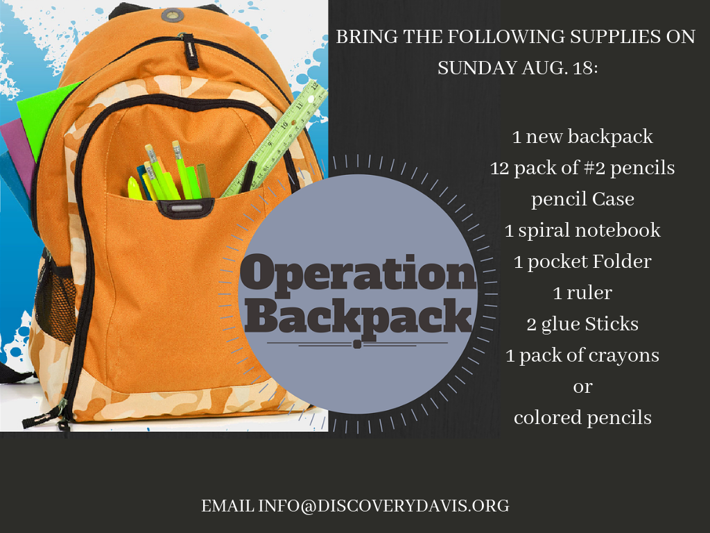 Operation Backpack 2019 image
