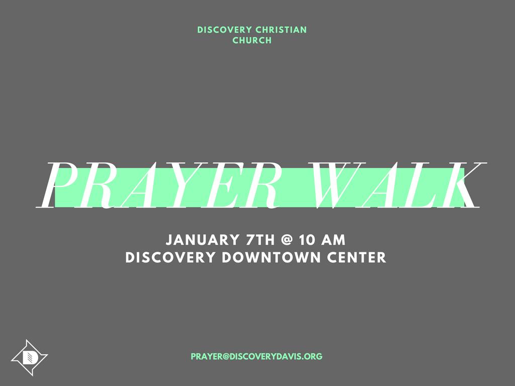 Prayer Walk 1.7.18
