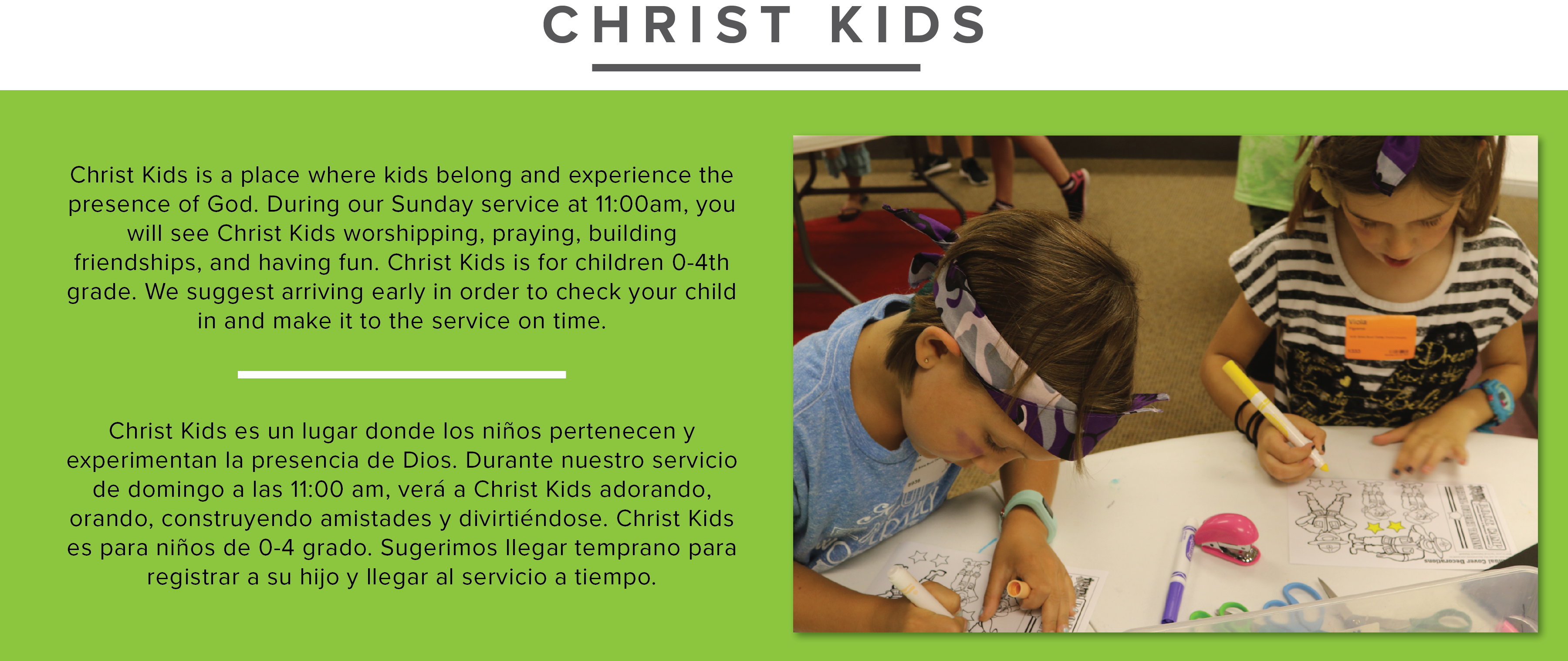 Midtown - Christ Kids new