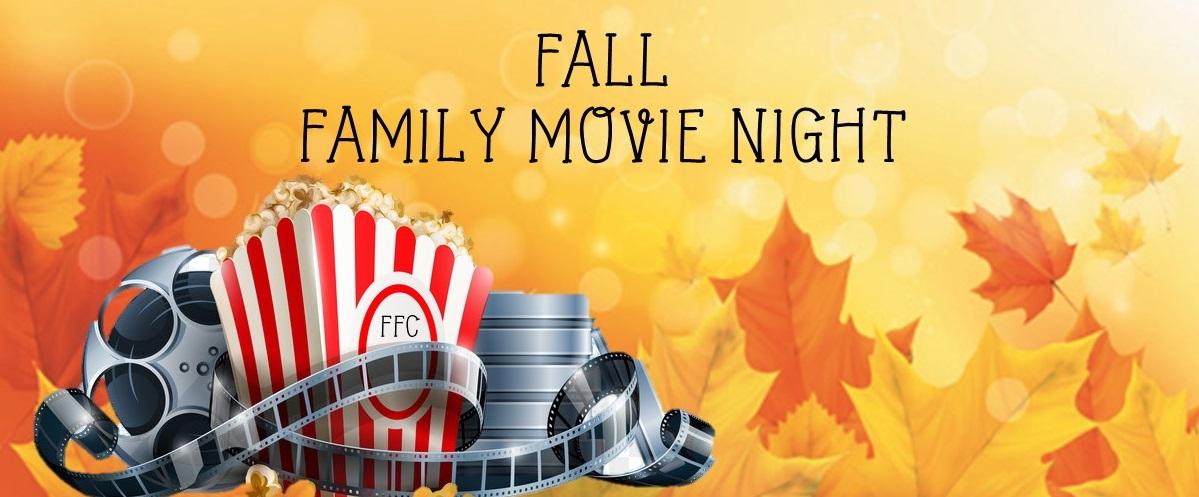 Fall Family Movie Night Page Header