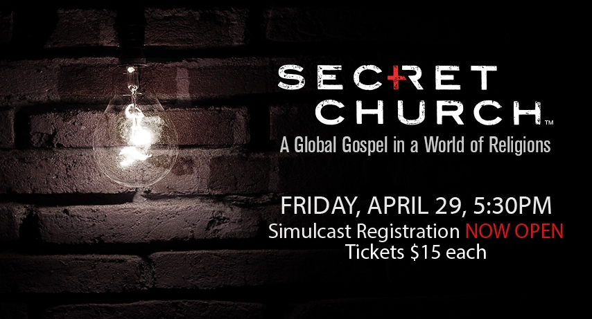 Secret Church coming soon! banner