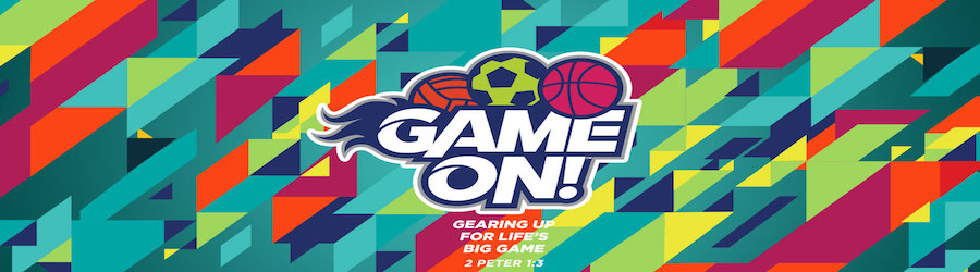 Game On! Vacation Bible School banner