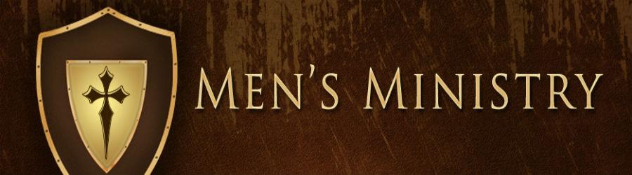 Men's Ministry  banner