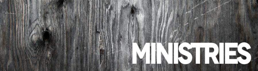 Ministries banner