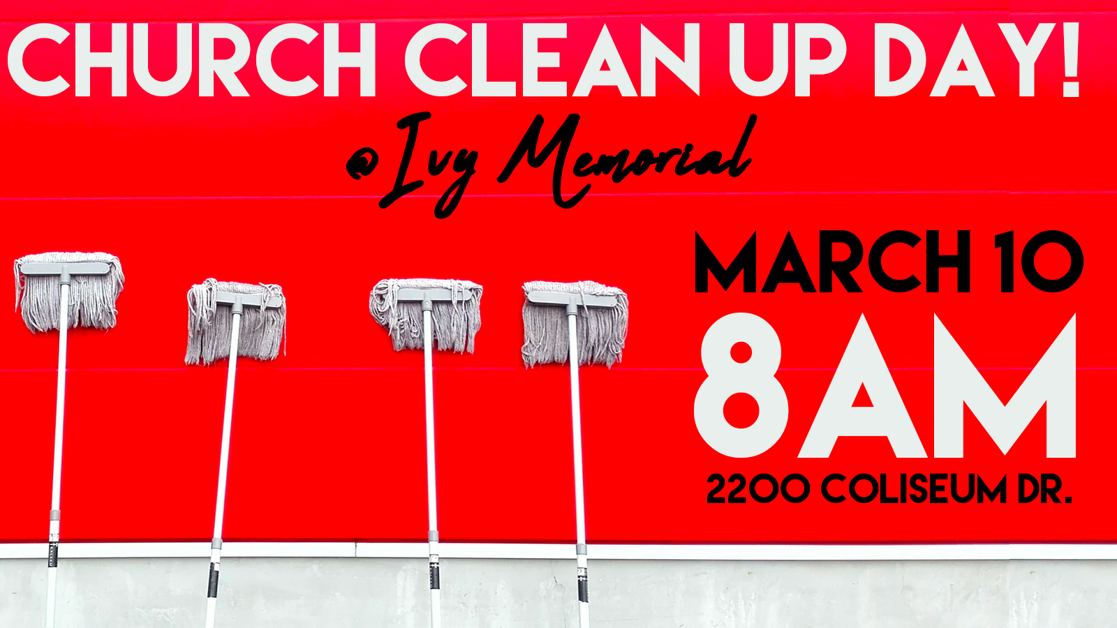 Church Clean Up 16x9