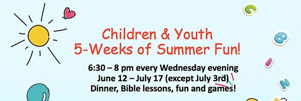 2019 Children Summer Program - event image