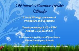 August 2019 Bible Study CPM Event image
