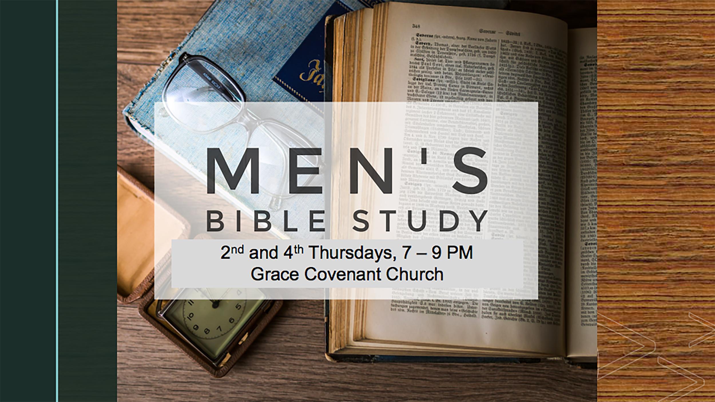Men's Bible Study web post 2019