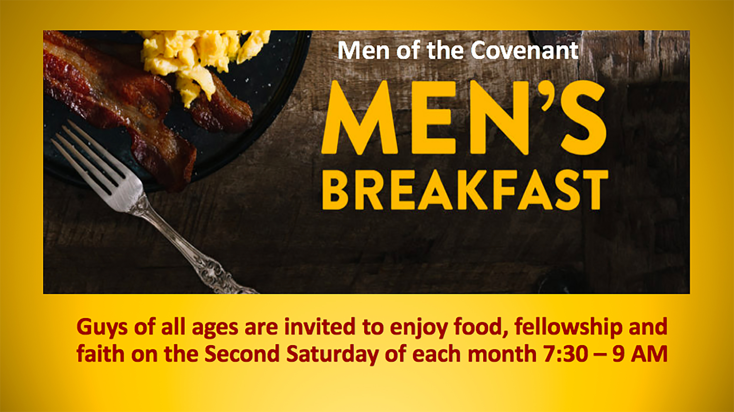 Men's Breakfast web post 2019 image
