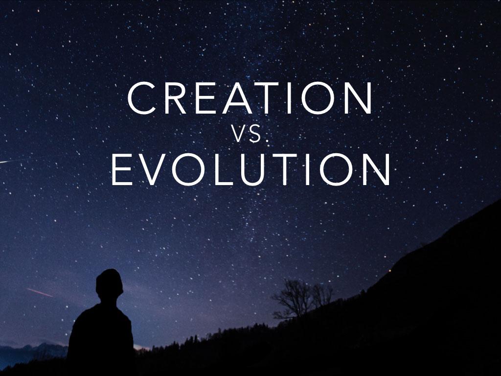 Creation vs. Evolution banner