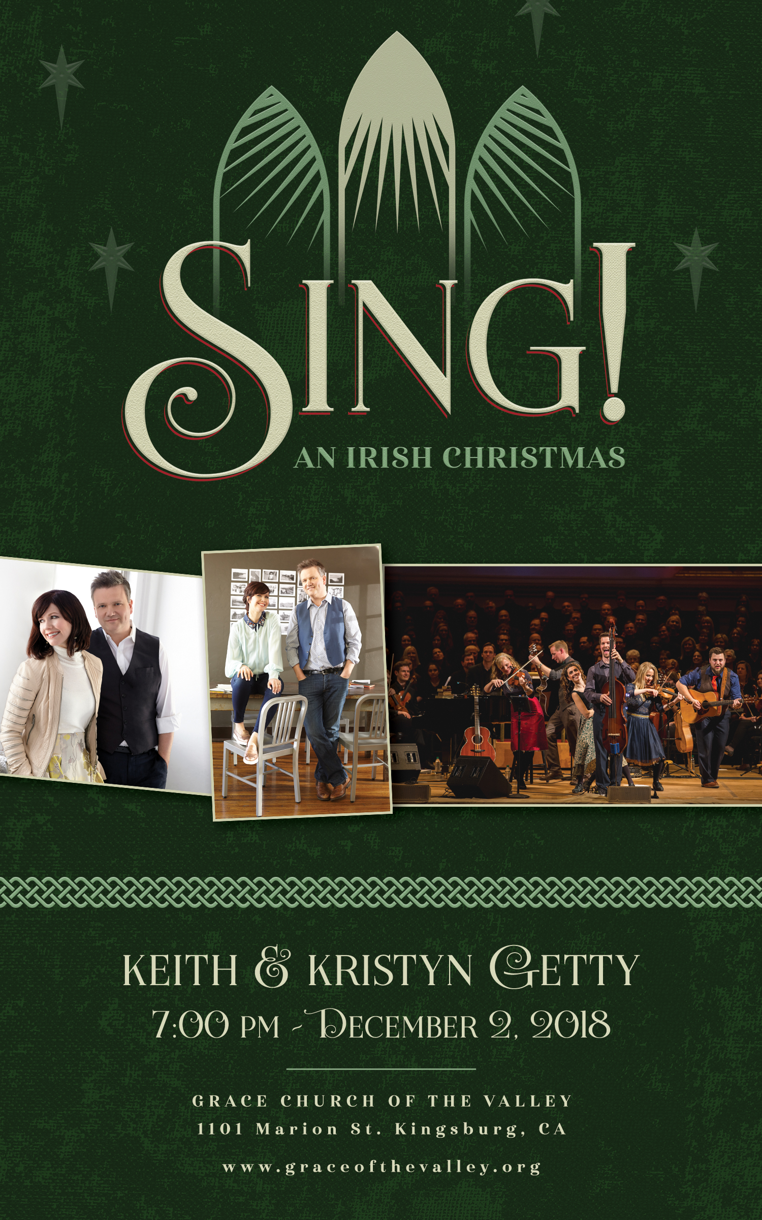 Grace Church of the Valley > Sing! An Irish Christmas