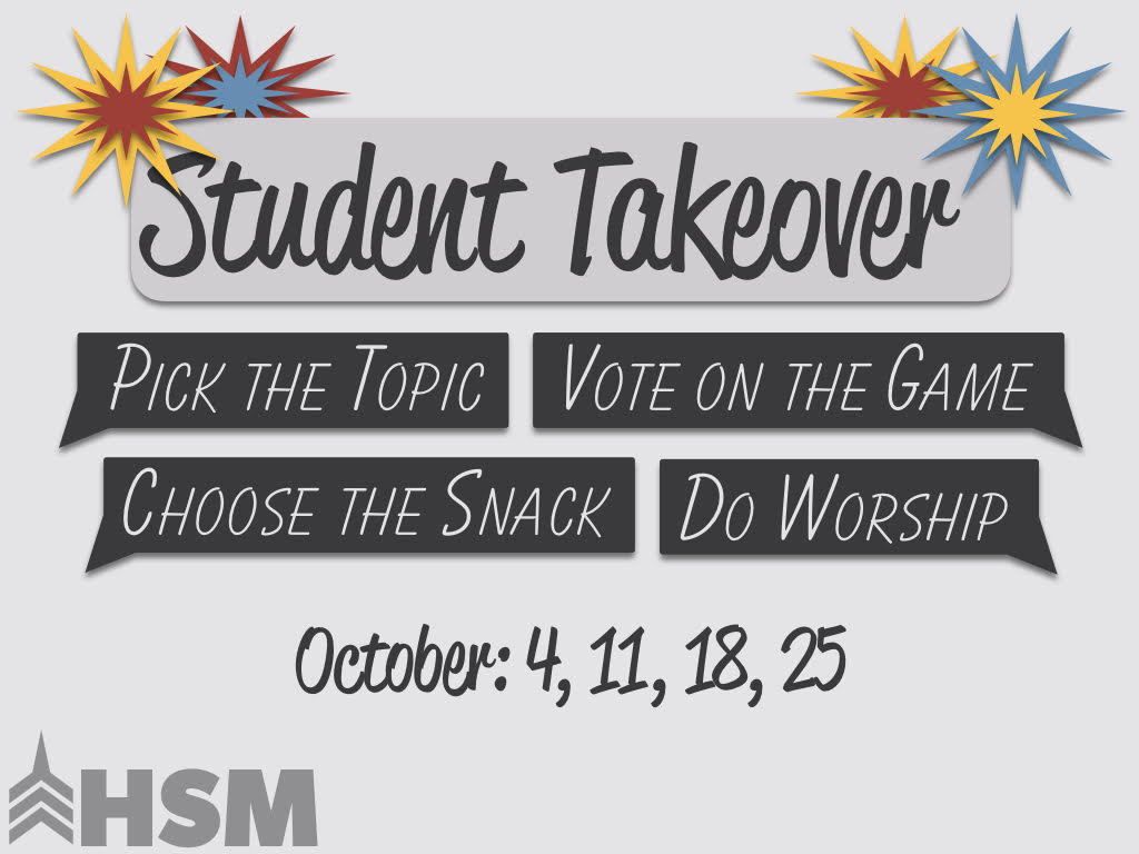 Student Takeover 2017