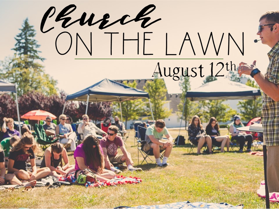 Church on the lawn 2018 image