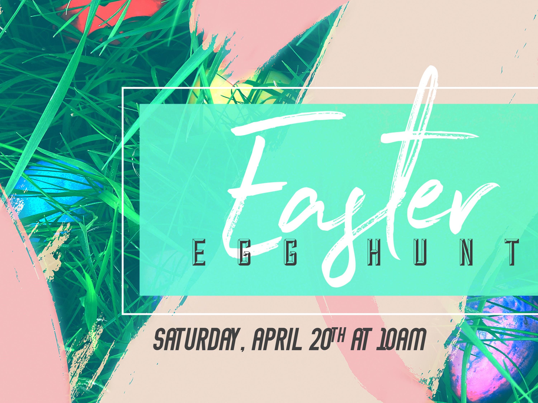 Easter egg hunt 2019 image