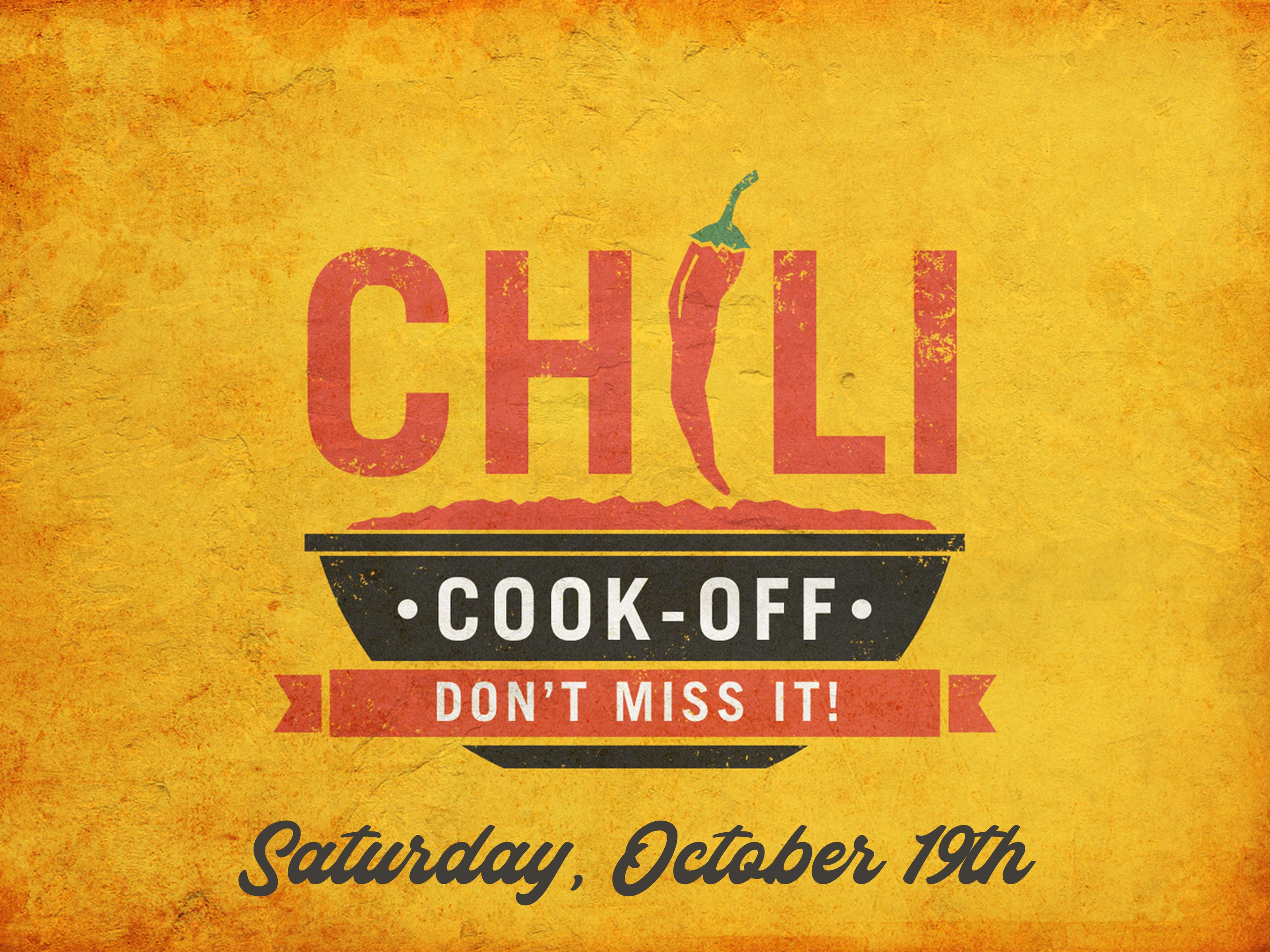 first annual chili cookoff