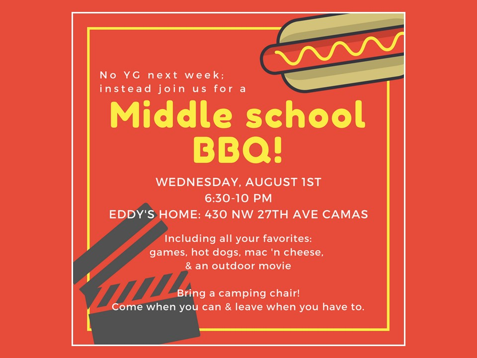 Middle school BBQ image