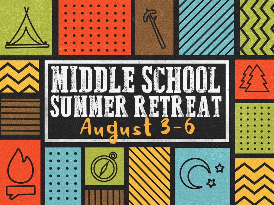 Middle school summer retreat 2017 image