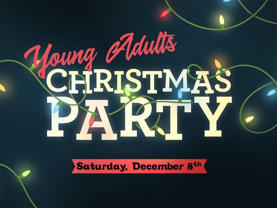 YA Christmas party image
