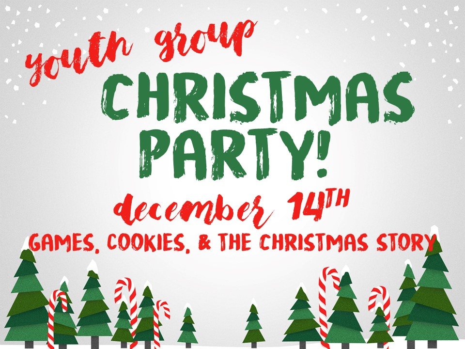 youth christmas party image - Christmas Youth Group Games