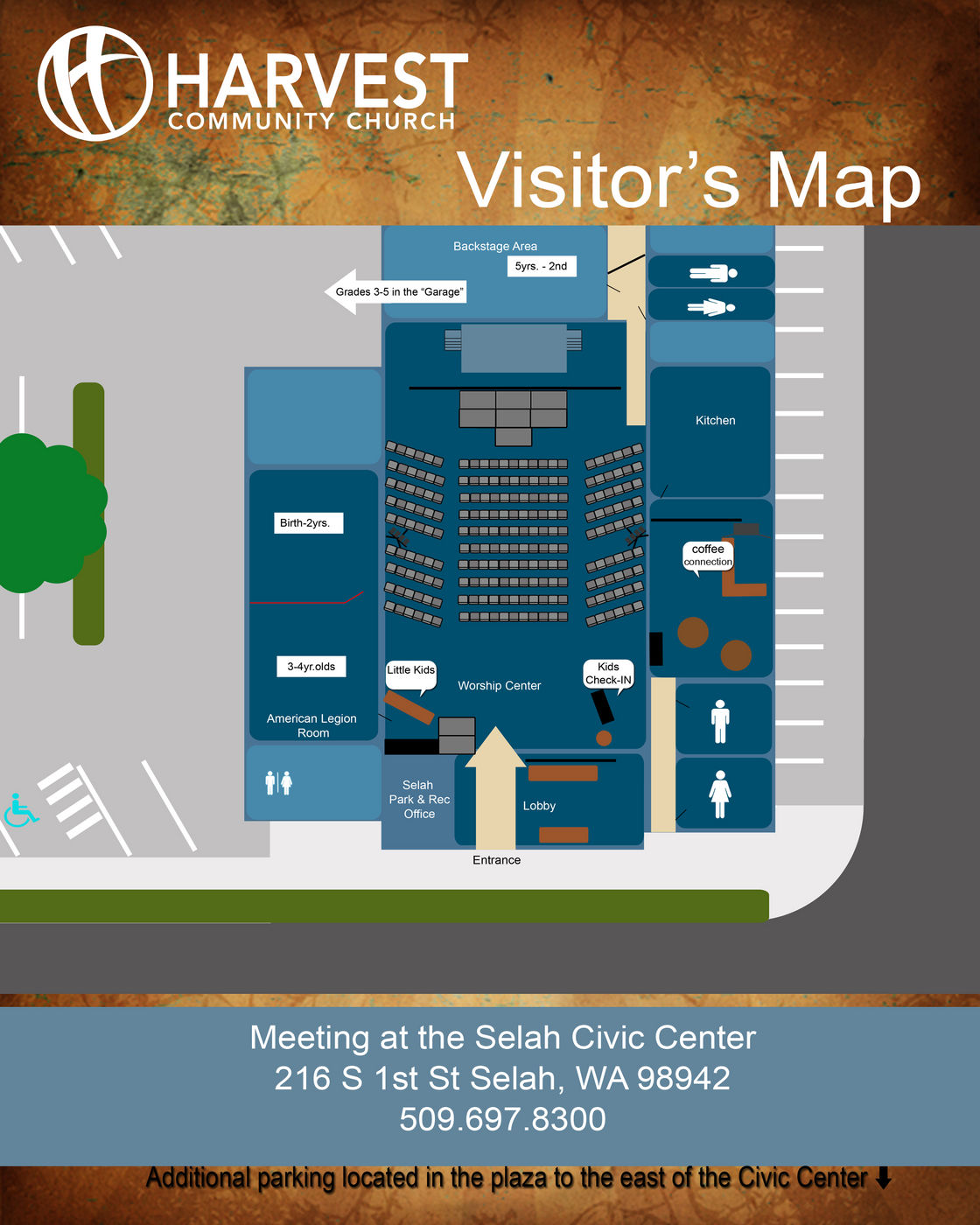 Visitor's Map 2015