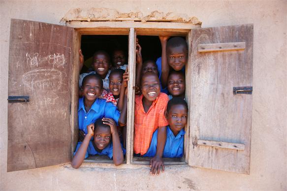 Africa schoolkids