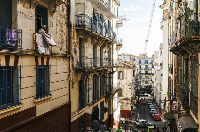 Algiers old city street