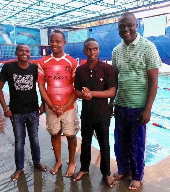 Baptism Candidates & Sam