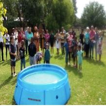 Bloem baptism