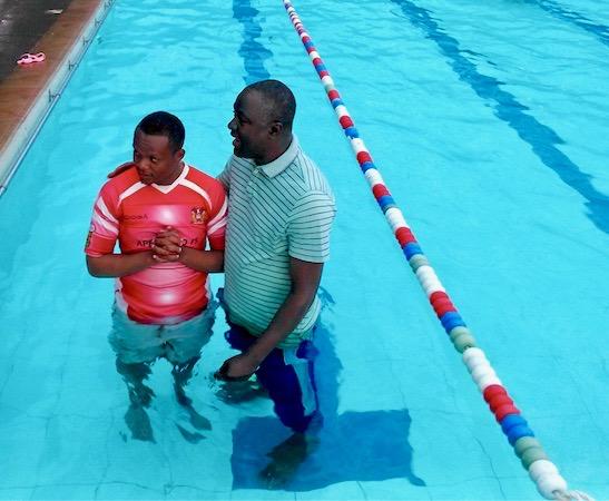 Edgar baptism
