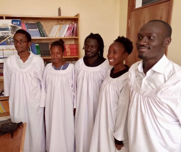 Eldoret Baptism candidates