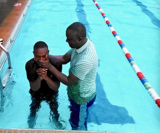 Francis baptism