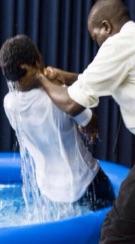 Josephine baptism