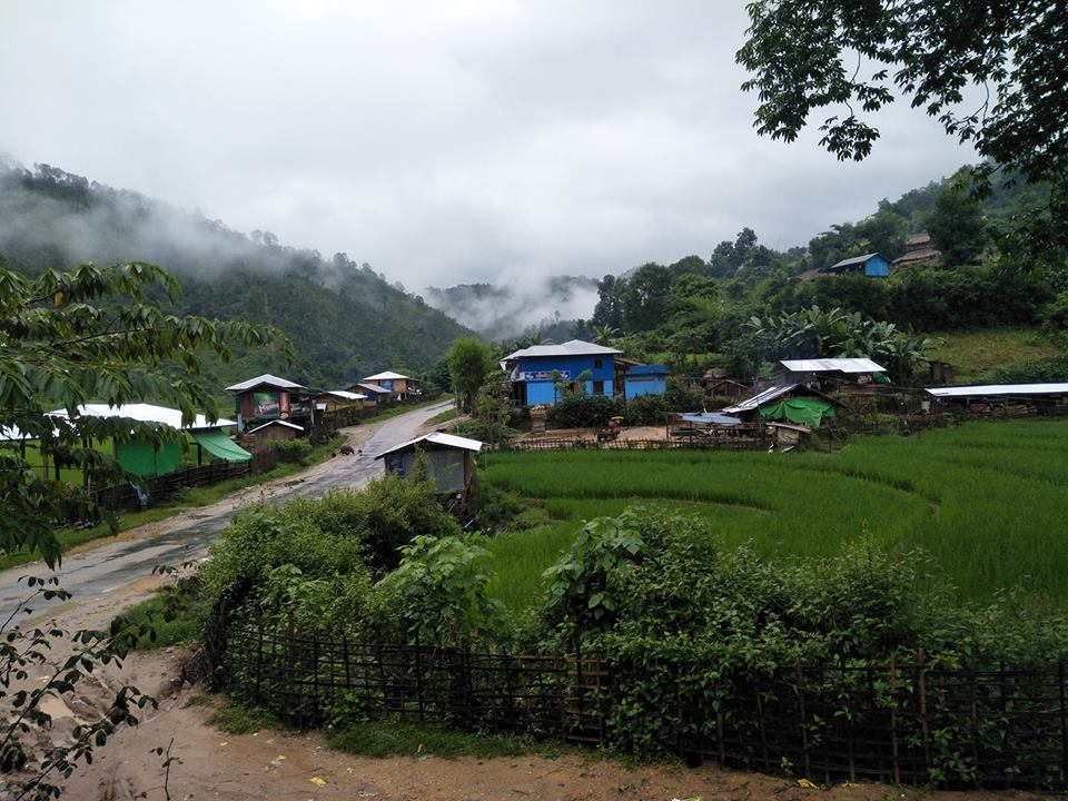 Myanmar_Village_Green