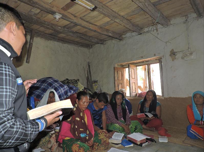 Nepal preaching