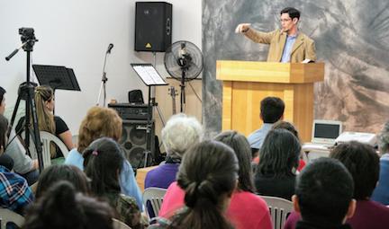 Nicolás Serrano - Preaching