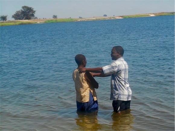 Poniso baptism 1