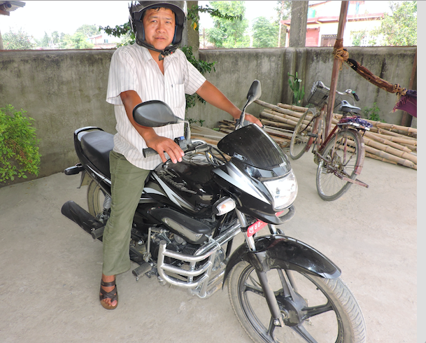 Ram B Motorbike
