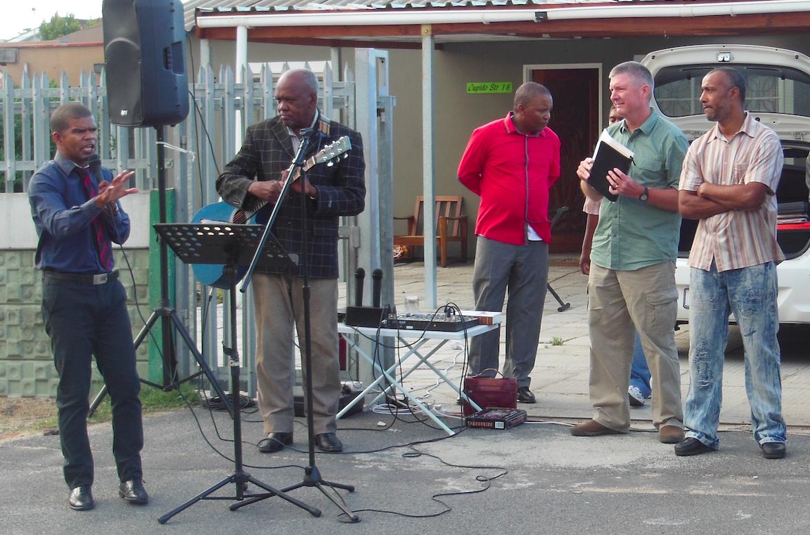 Street preaching Bellville