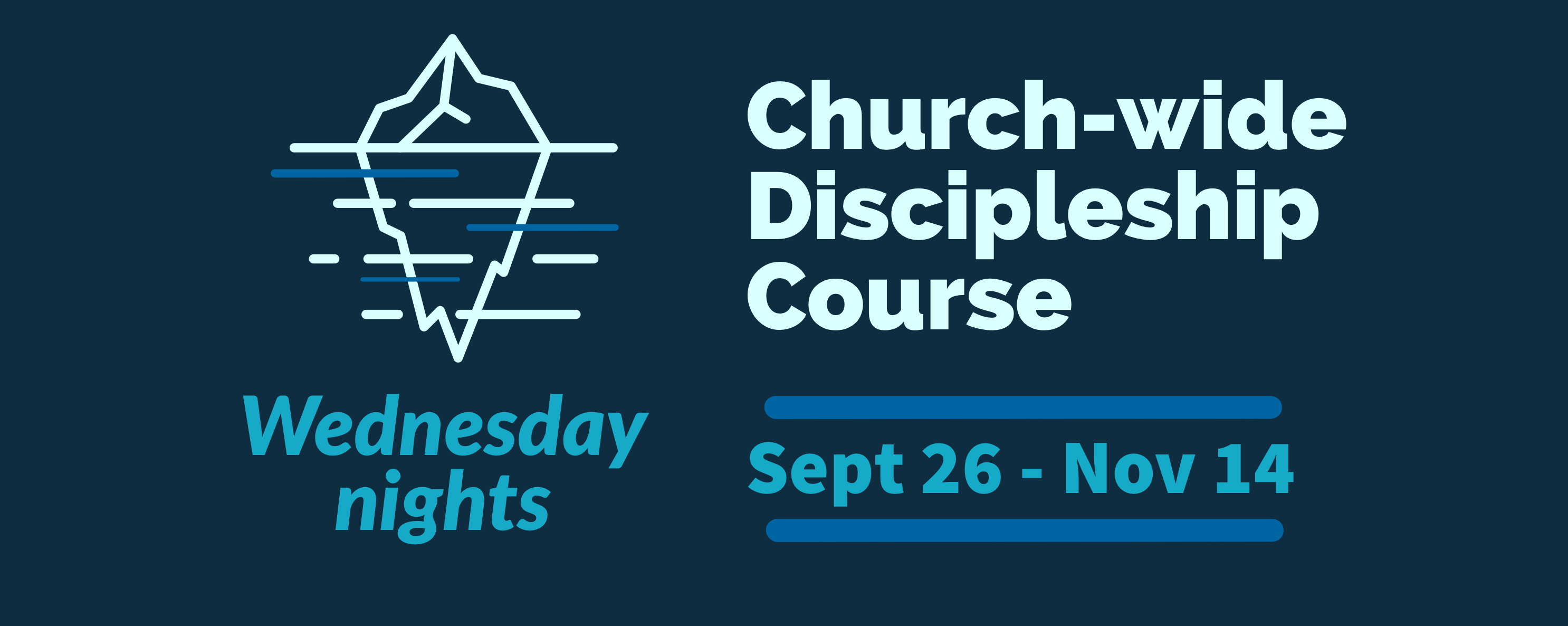 Church-wide discipleship group website