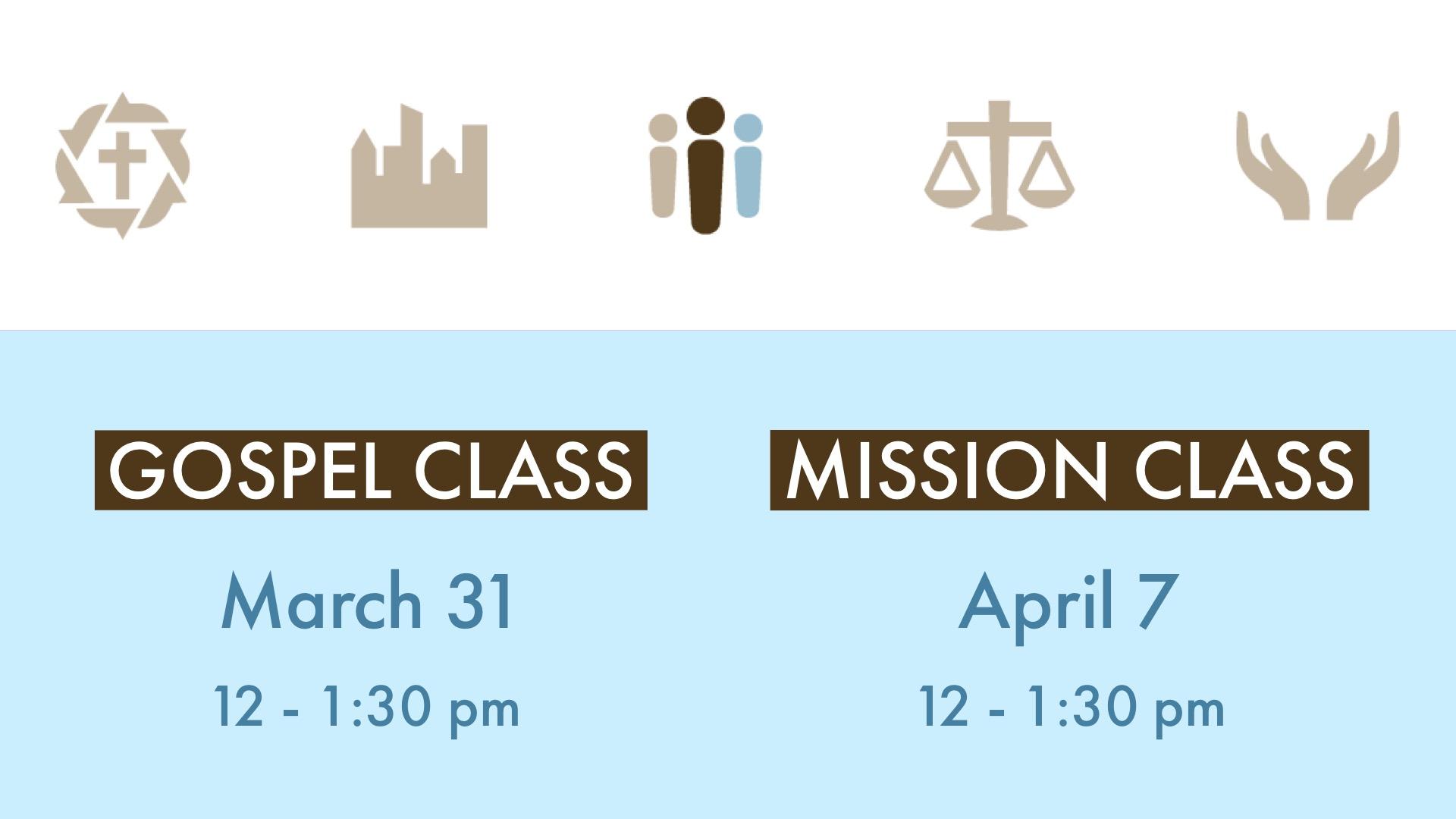 gospel:mission class spring 2019 image
